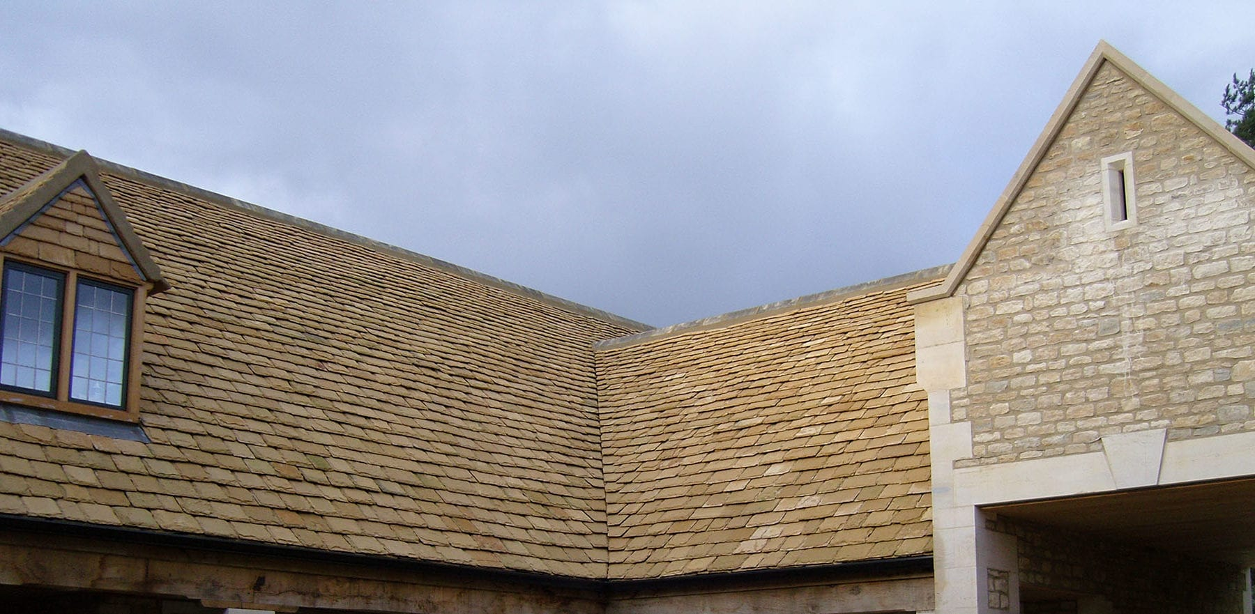 Lifestiles - Natural Stone Roof Tiles - The Stables, England 2