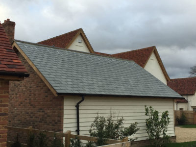 Lifestiles - Brazilian Natural Slate Roof Tiles - Farnham, England