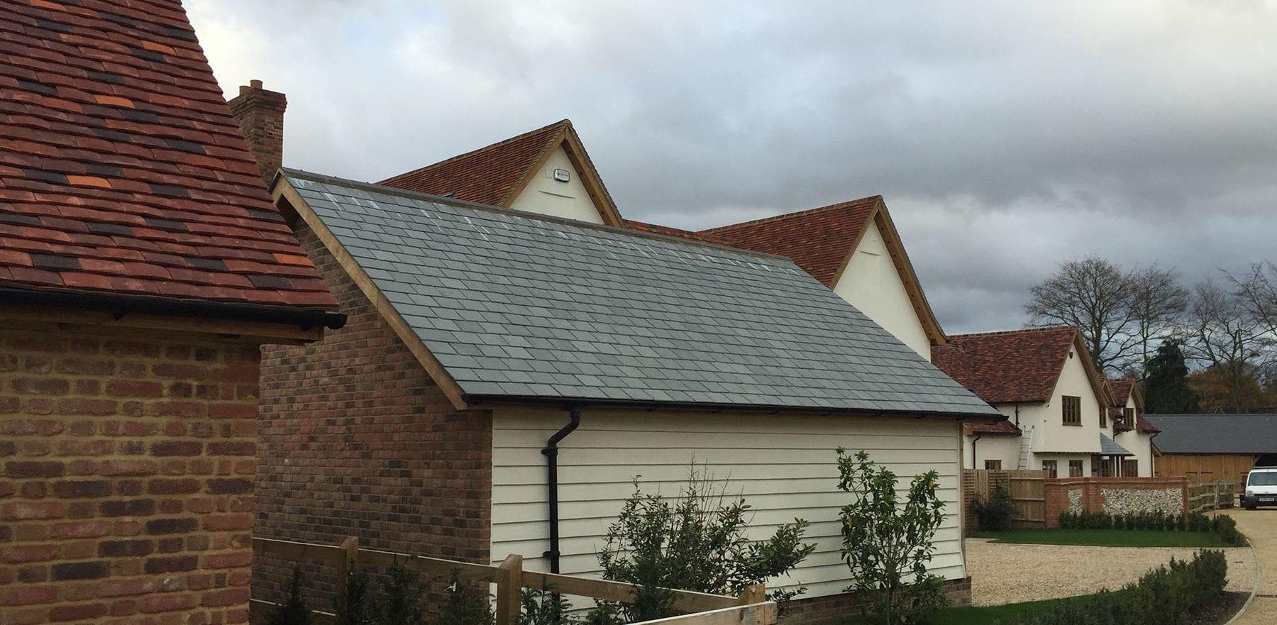 Lifestiles - Brazilian Natural Slate Roof Tiles - Farnham, England 2