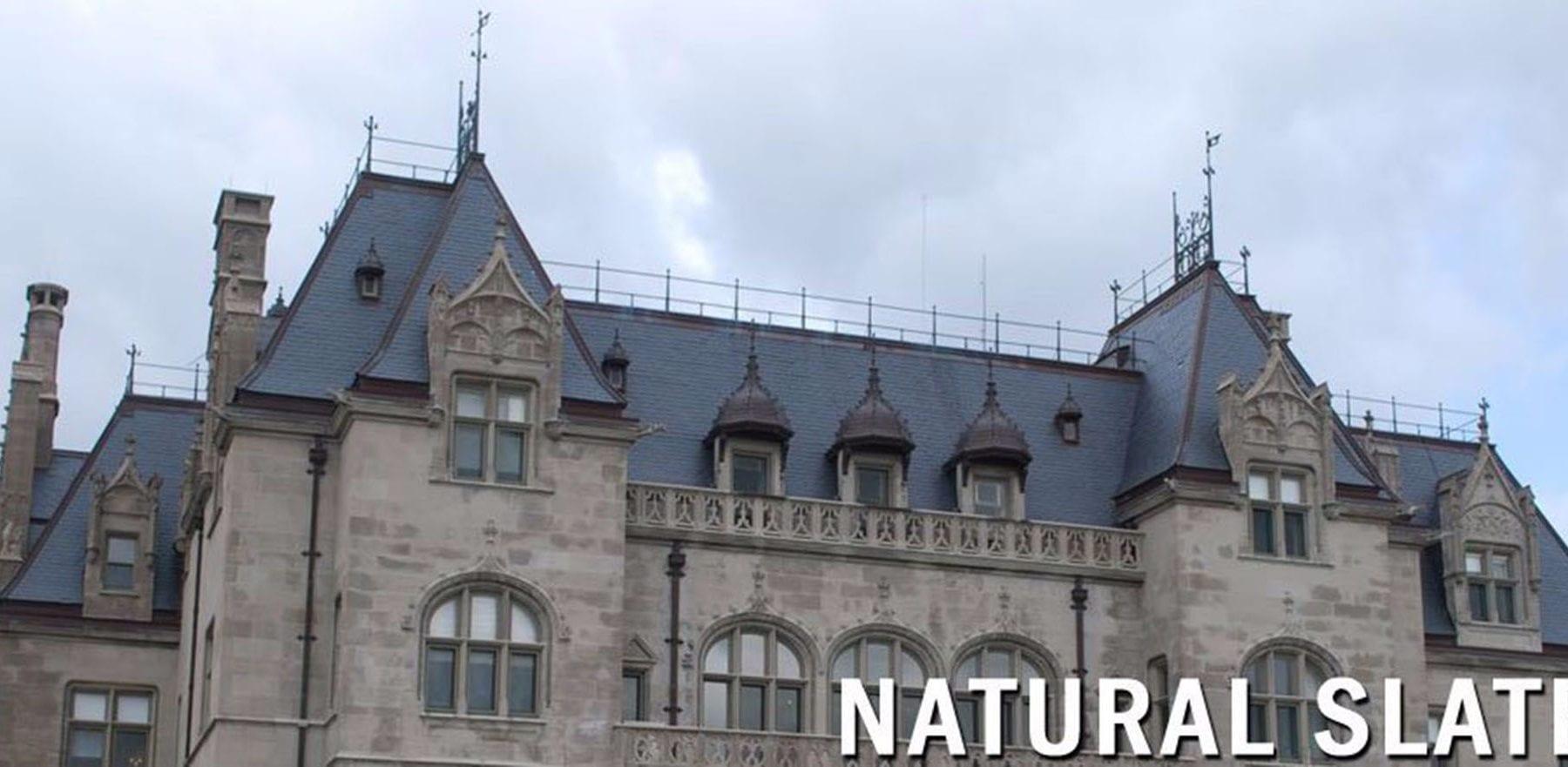 Lifestiles - Canadian Natural Slate Roof Tiles - Various, England 2