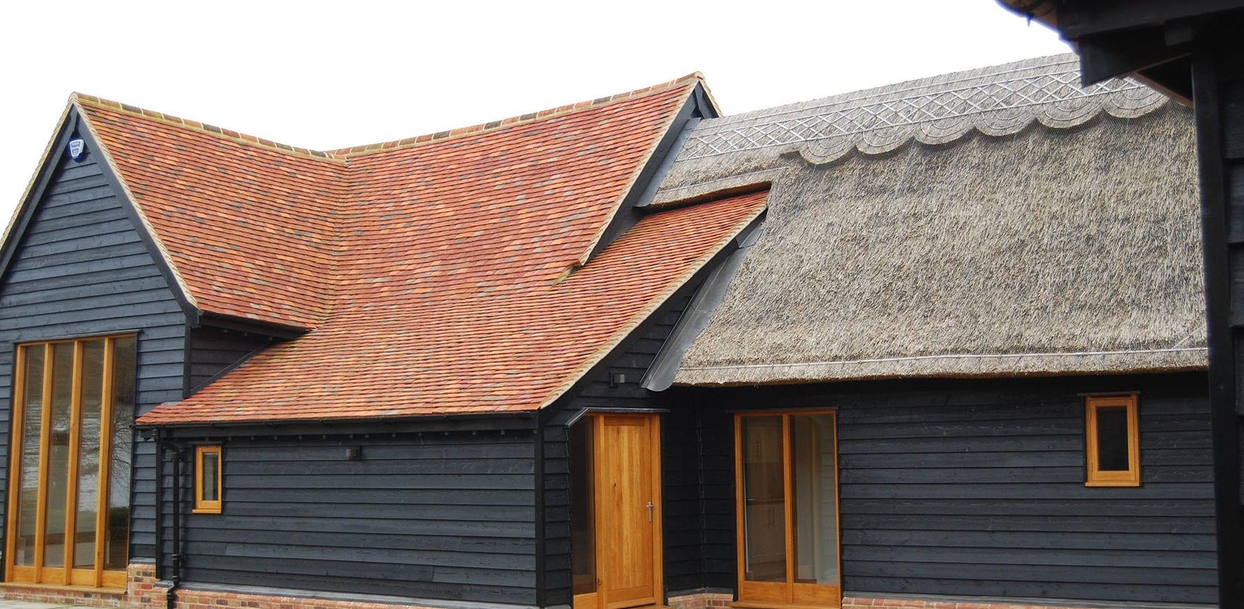 Lifestiles - Handmade Multi Clay Roof Tiles - Ford End, England 2