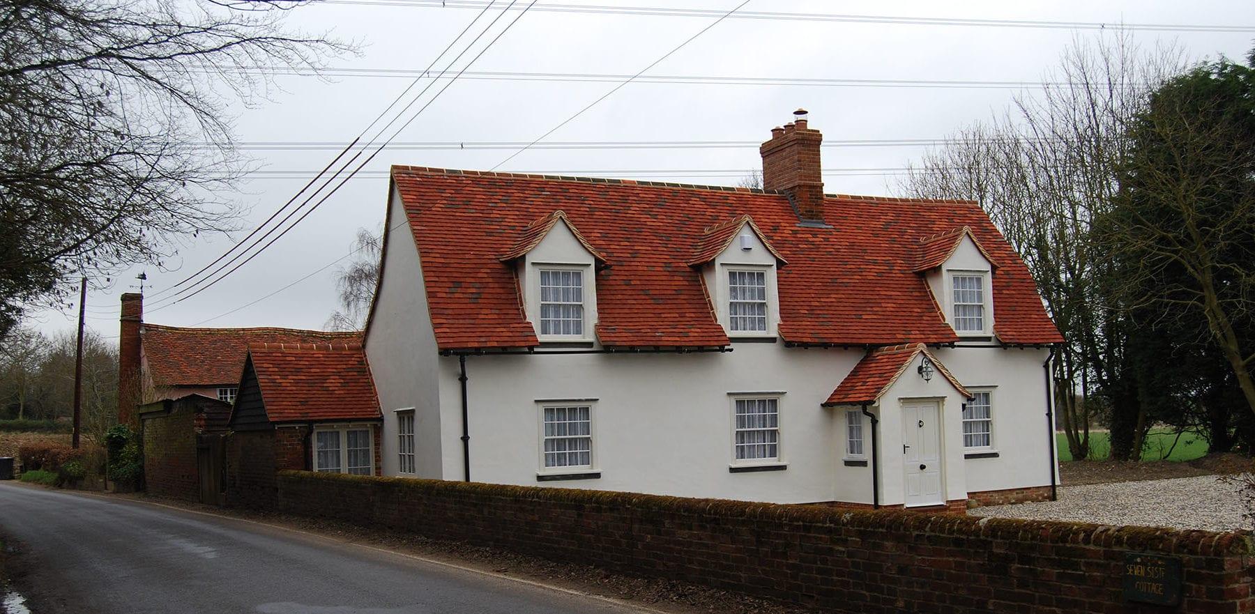 Lifestiles - Handmade Multi Clay Roof Tiles - Gainsford End, England 4