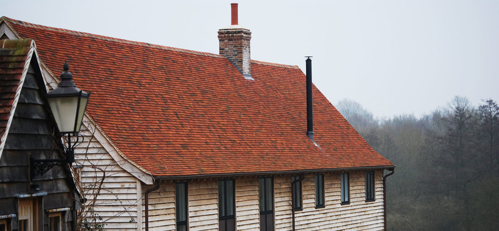 Lifestiles - Handmade Multi Clay Roof Tiles - Sible, England
