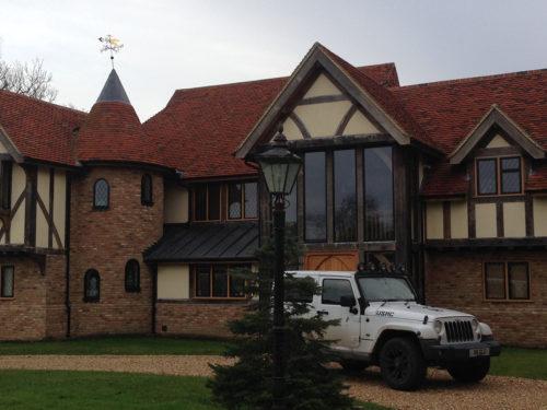 Lifestiles - Handmade Multi Clay Roof Tiles - Windlesham, England