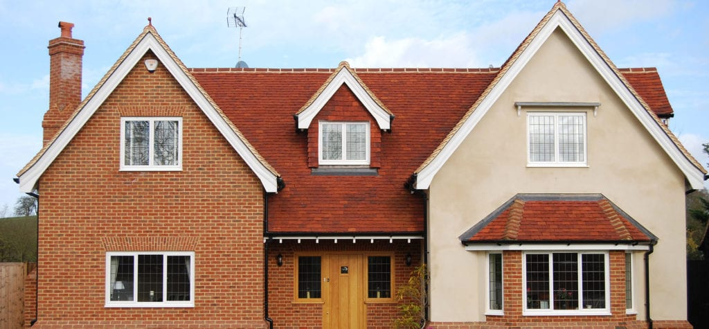Lifestiles - Handmade Red Clay Roof Tiles - Rudley, England