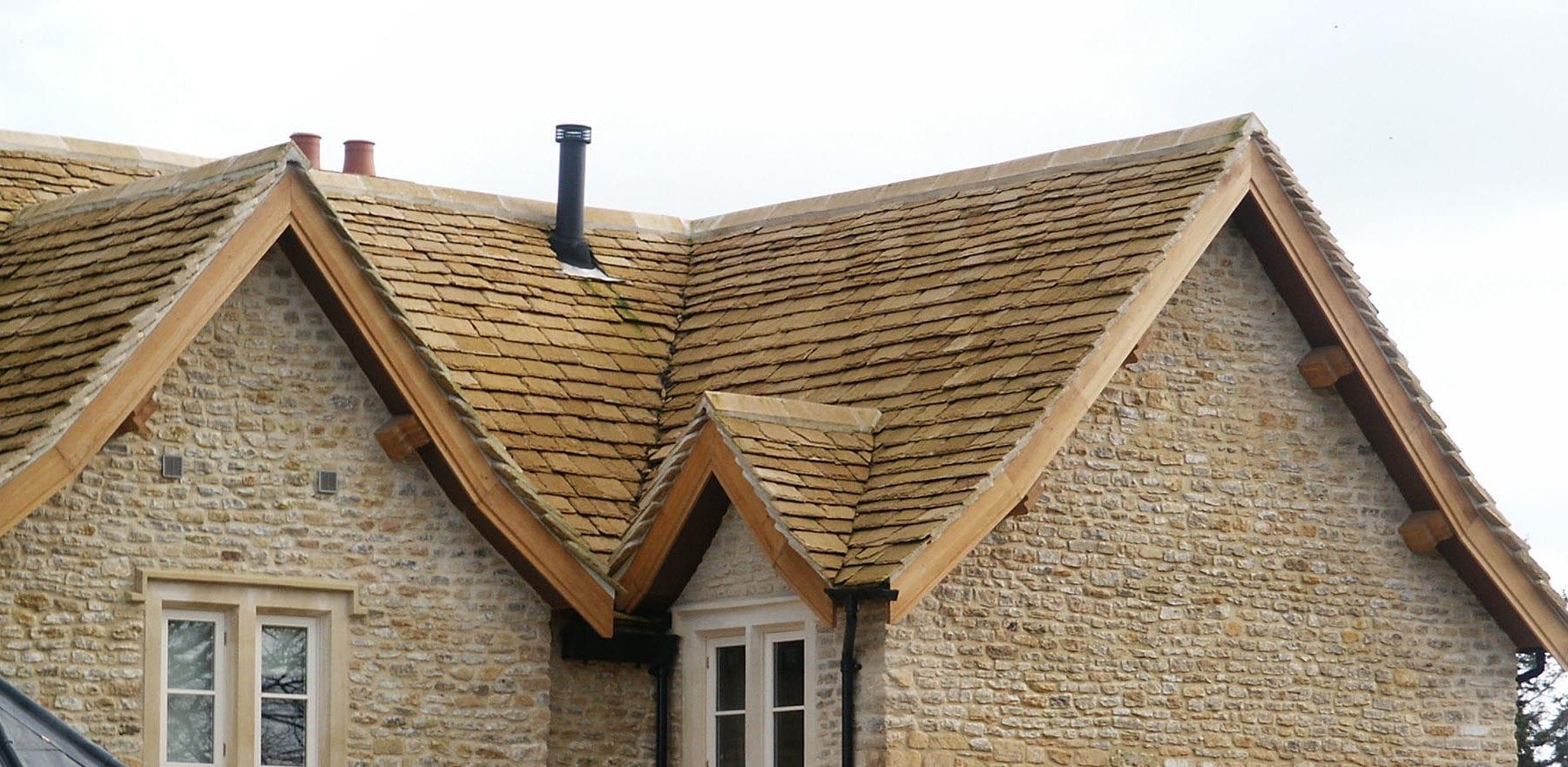 Lifestiles - Natural Stone Roof Tiles - On The Marsh, England 2