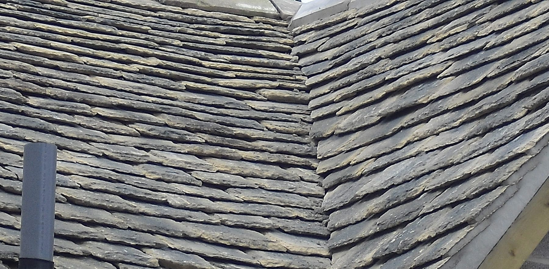 Lifestiles - Natural Stone Aged Roof Tiles - Letcombe, England 2