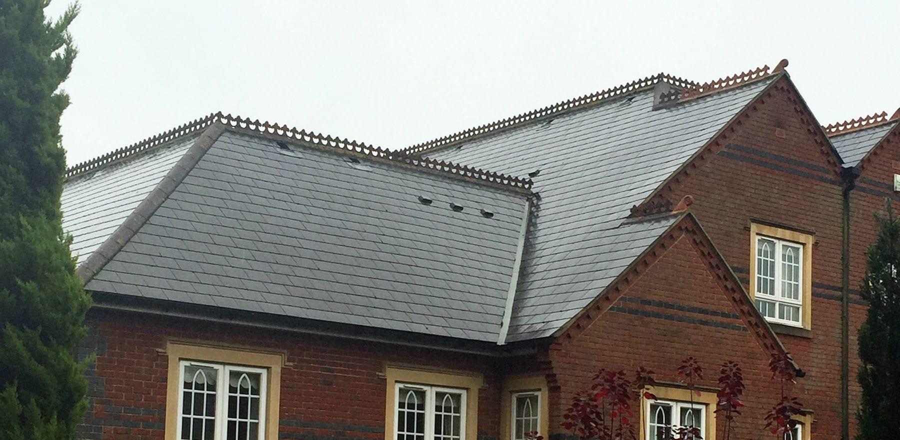 Lifestiles - Spanish Natural Slate Roof Tiles - Kingswood, England 2