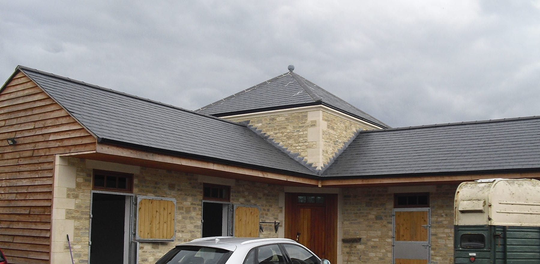 Lifestiles - Spanish Natural Slate Roof Tiles - Wiltshire, England 2
