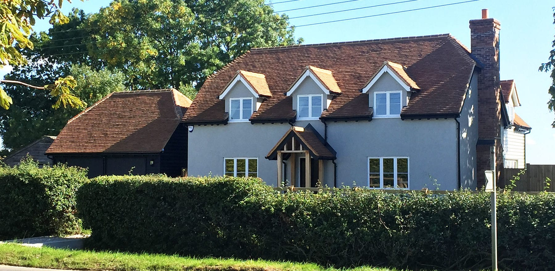 Lifestiles - Handcrafted Foxearth Clay Roof Tiles - Yeldham, England 3