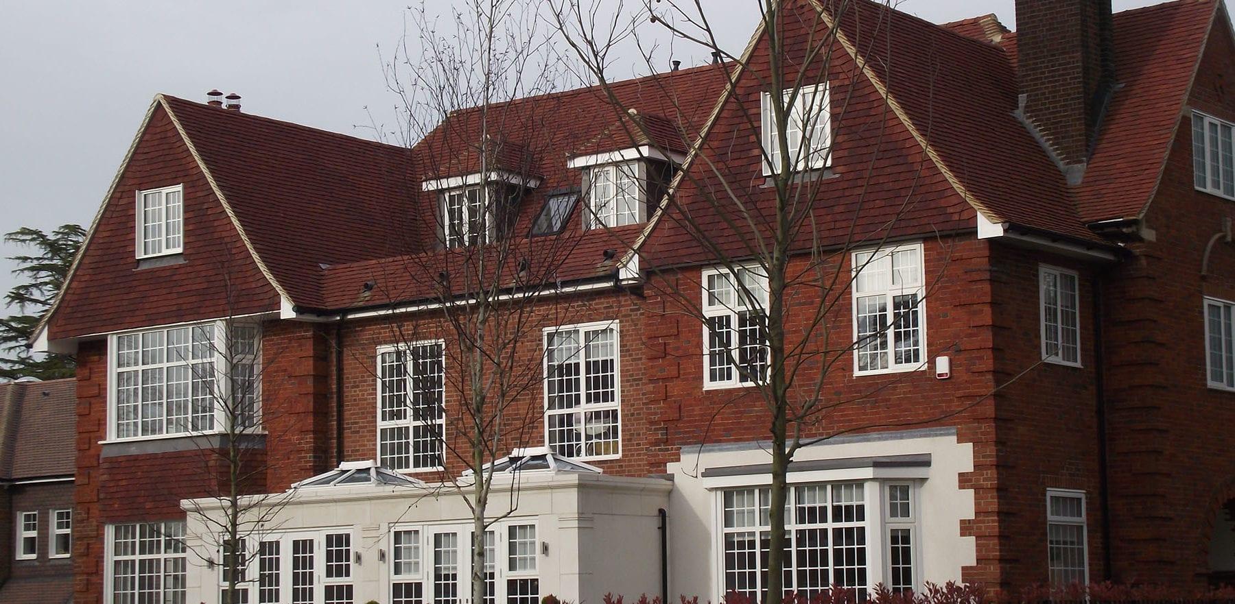 Lifestiles - Handmade Heather Clay Roof Tiles - Bickley, England 3
