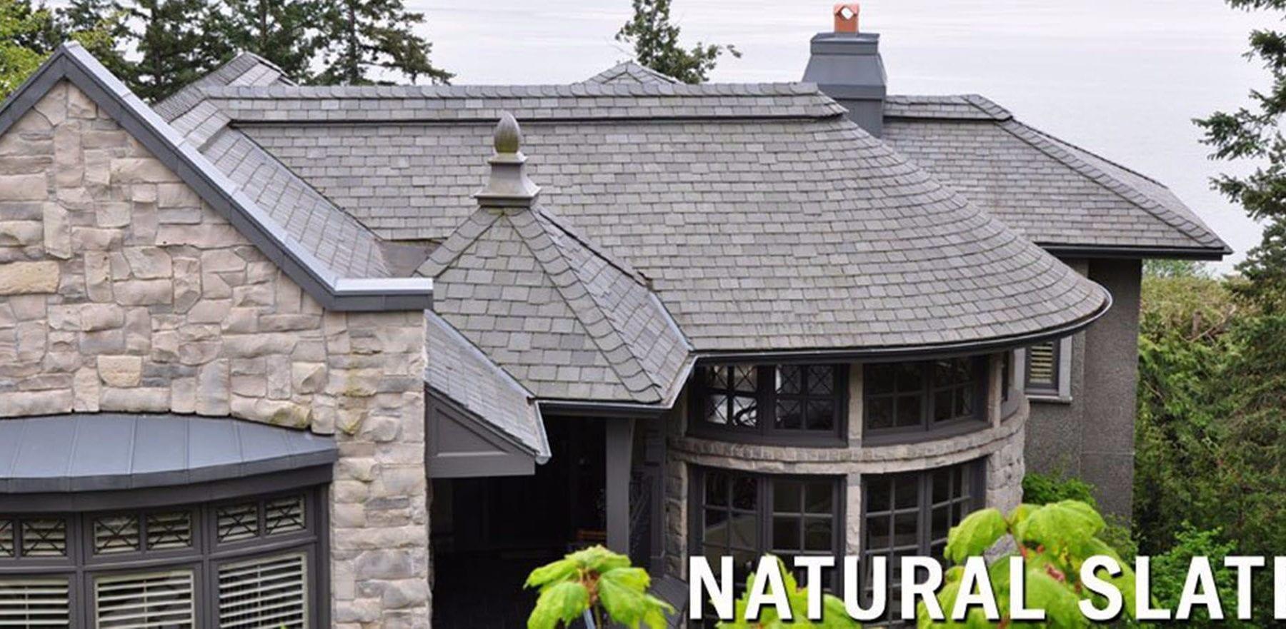 Lifestiles - Canadian Natural Slate Roof Tiles - Various, England 3