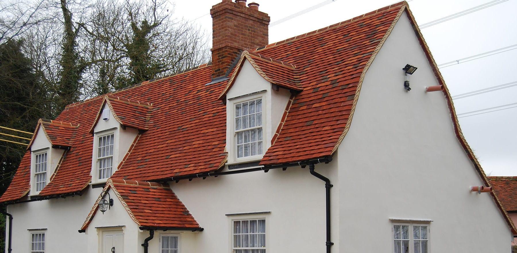 Lifestiles - Handmade Multi Clay Roof Tiles - Gainsford End, England 5