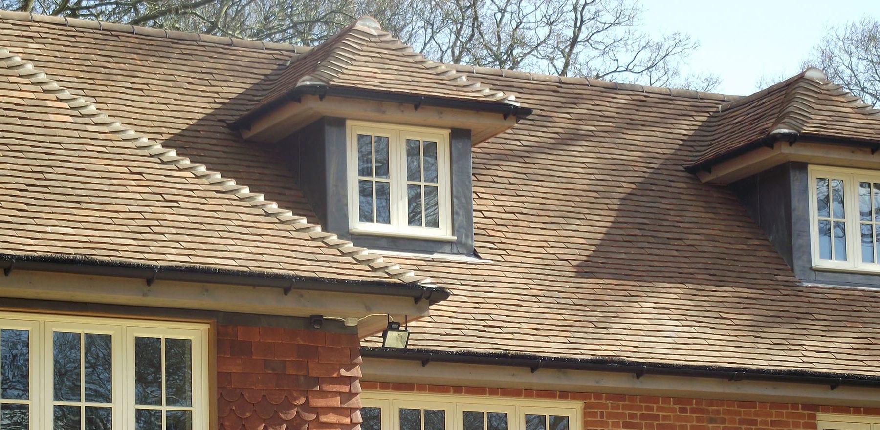 Lifestiles - Handmade Brown Clay Roof Tiles - Romsey, England 3