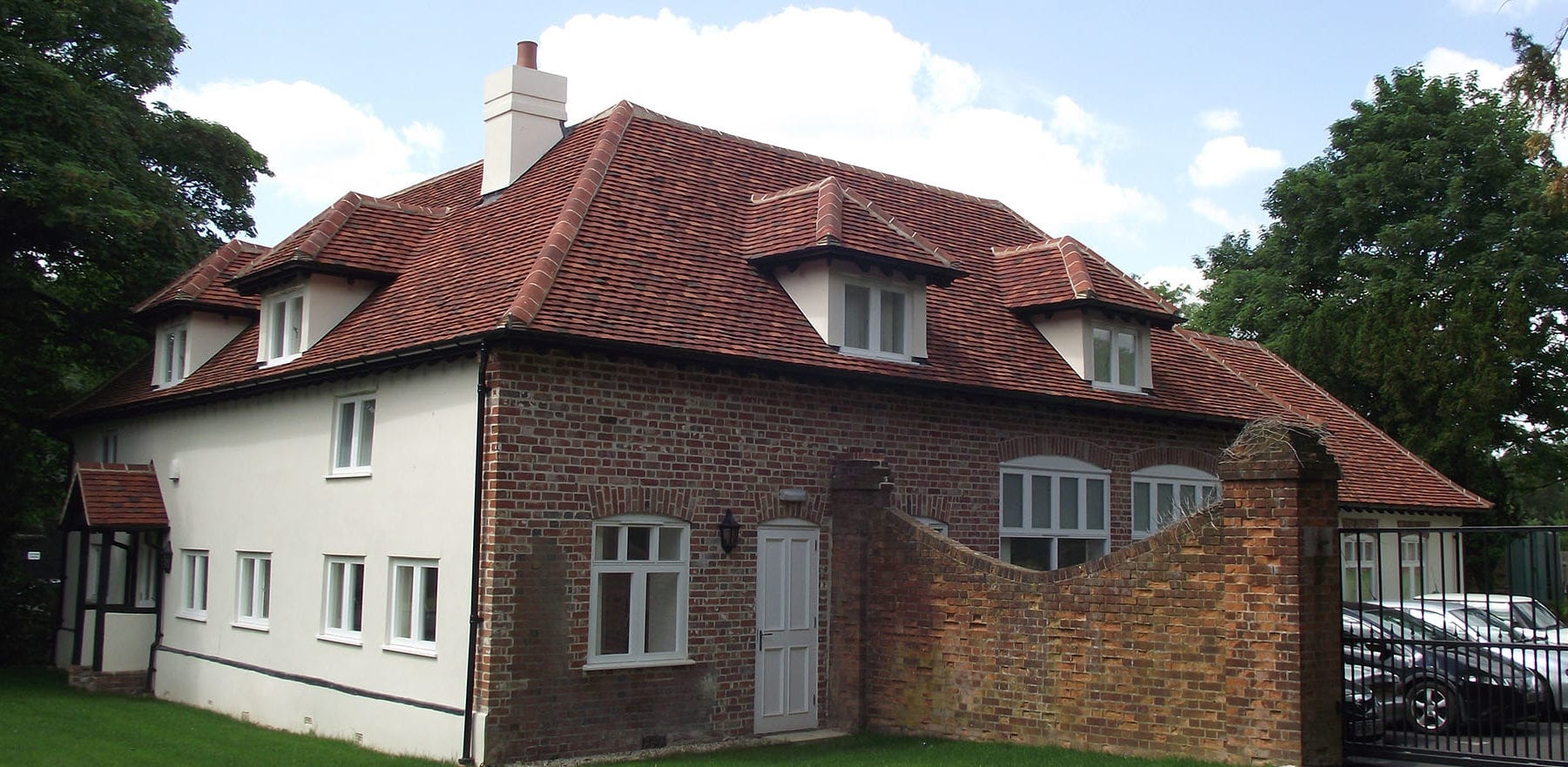 Lifestiles - Handmade Multi Clay Roof Tiles - Stanstead, England 3