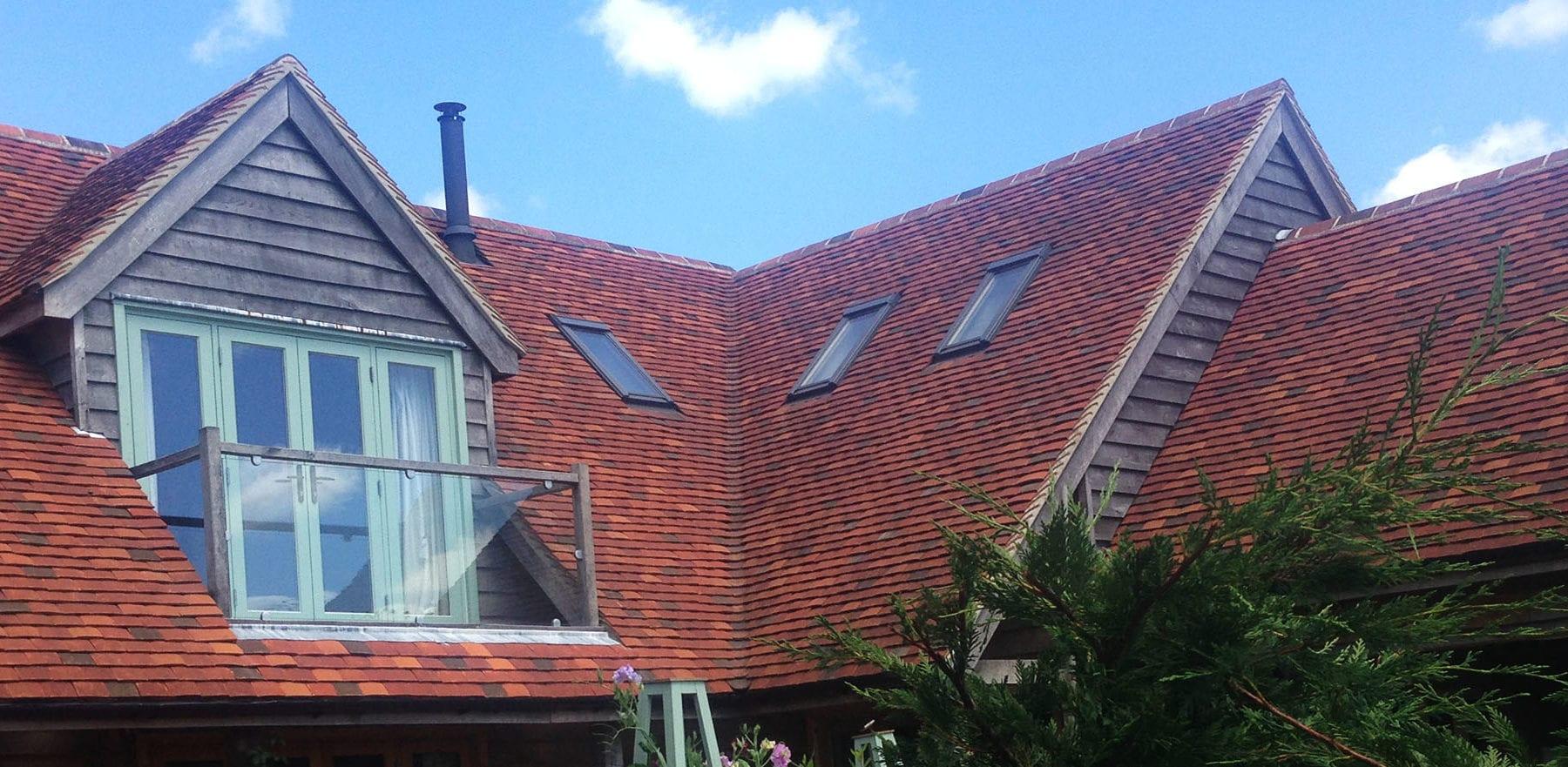 Lifestiles - Handmade Multi Clay Roof Tiles - Stephen Evans Architect, England 3