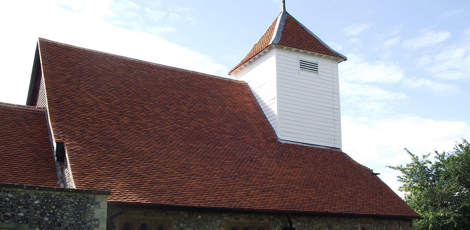 Lifestiles - Handmade Orange Clay Roof Tiles - Sulhampstead Abbot, England 3