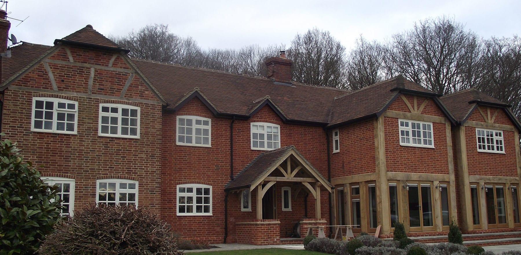 Lifestiles - Handmade Restoration Clay Roof Tiles - Roke, England 2