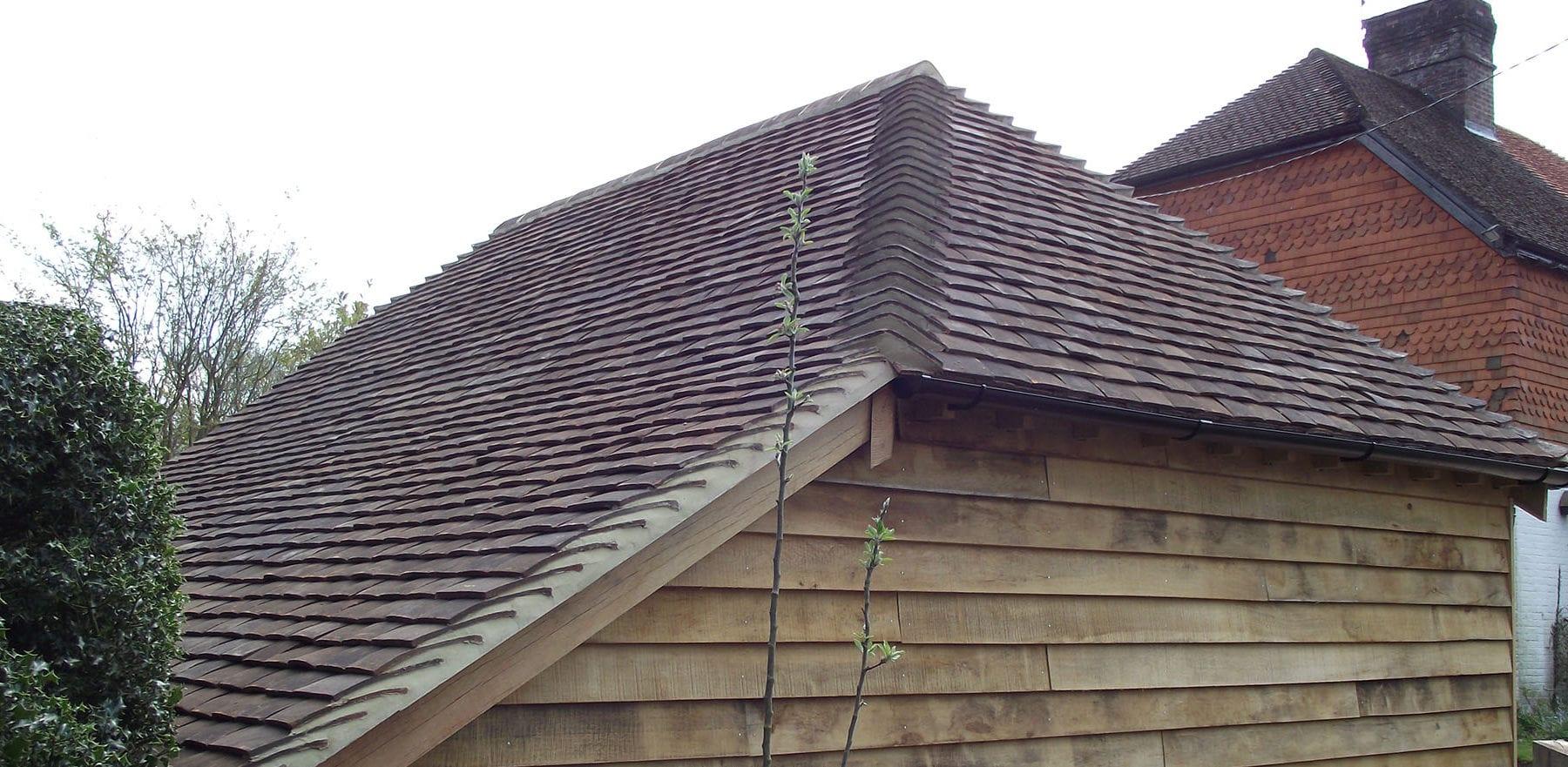 Lifestiles - Handmade Restoration Clay Roof Tiles - Cart Lodge, England 2