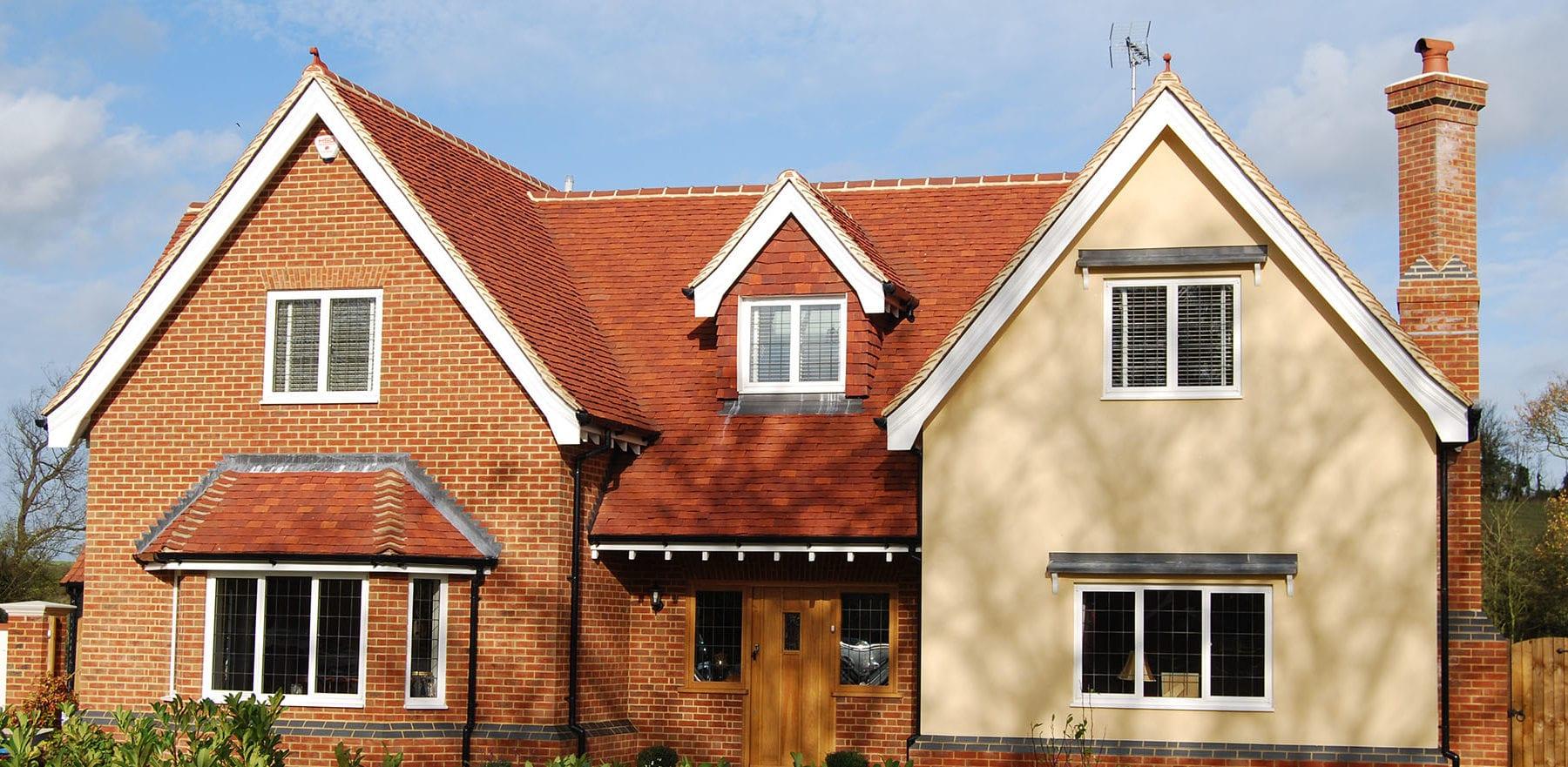 Lifestiles - Handmade Red Clay Roof Tiles - Rudley Oaks, England 2