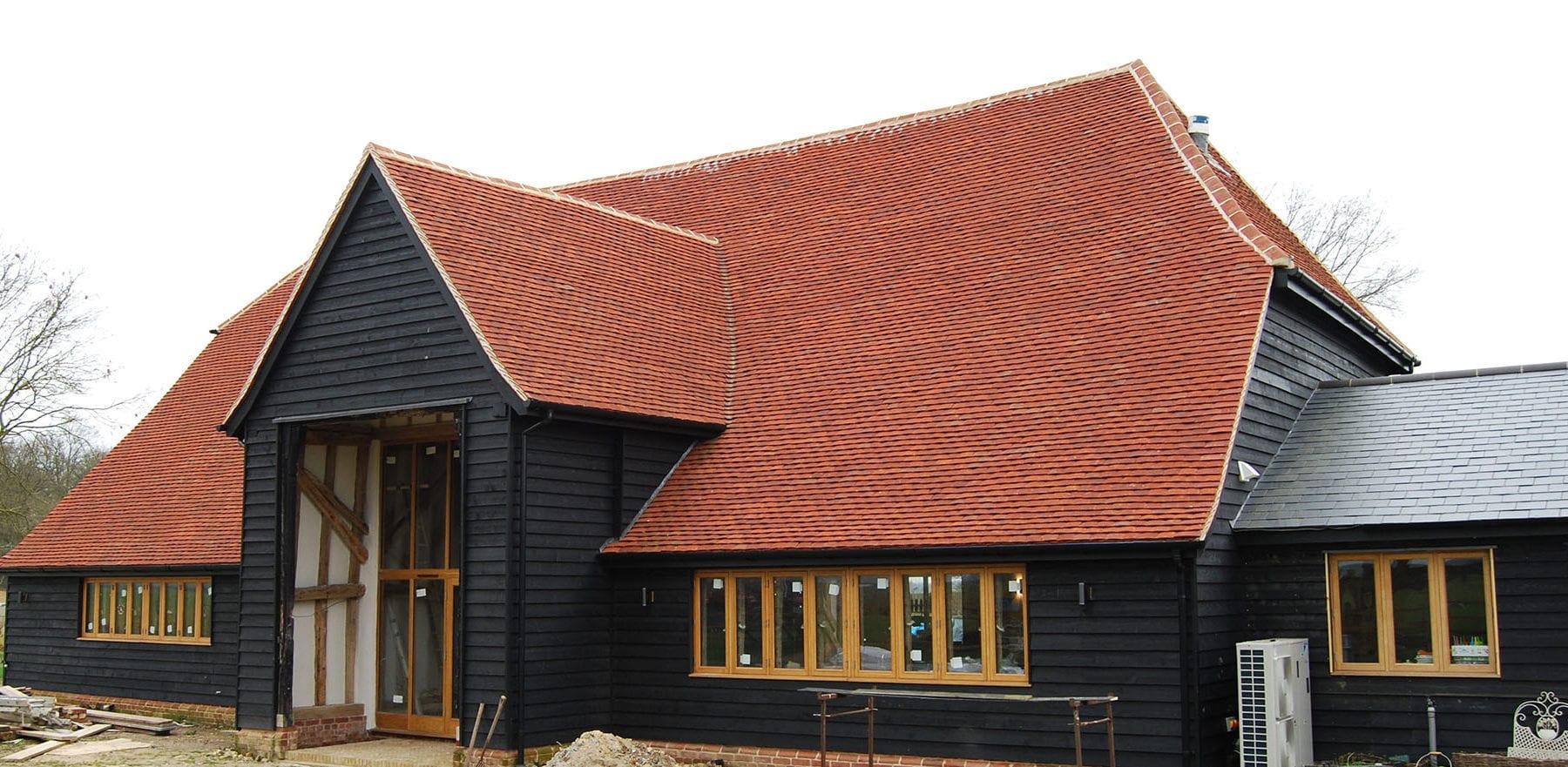 Lifestiles - Handmade Red Clay Roof Tiles - Guestingthorpe, England 2