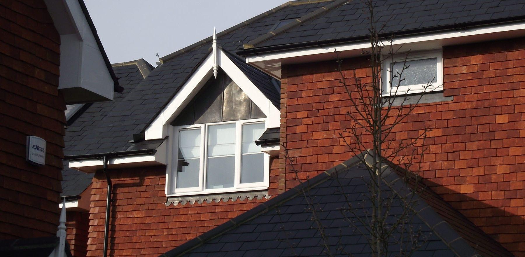 Lifestiles - Handmade Red Clay Roof Tiles - Frensham, England 2