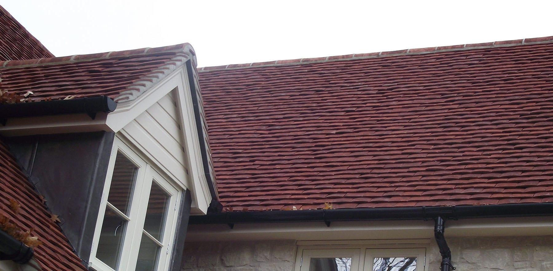 Lifestiles - Handmade Heather Clay Roof Tiles - Favant, England 2