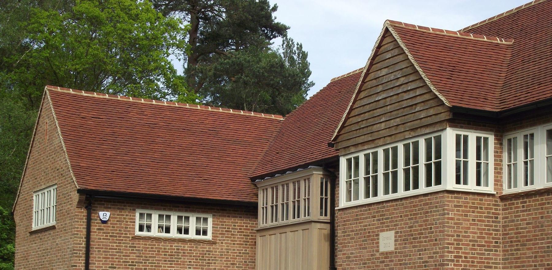Lifestiles - Handmade Heather Clay Roof Tiles - Godalming, England 2
