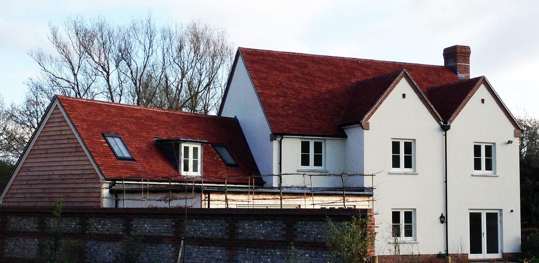 Lifestiles - Handmade Heather Clay Roof Tiles - Salisbury, England 2