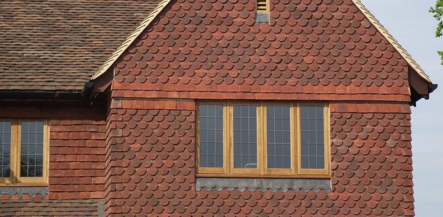 Lifestiles - Handmade Heather Clay Roof Tiles - Surrey, England 2