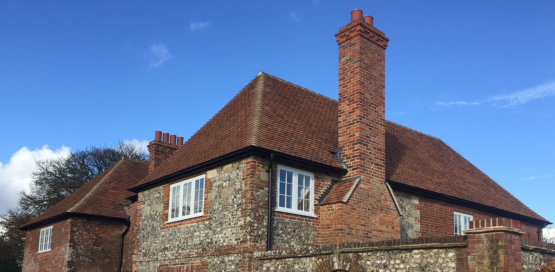 Lifestiles - Handmade Heather Clay Roof Tiles - Barlow, England 2