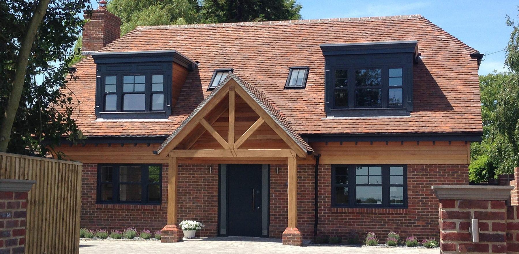 Lifestiles - Handmade Brown Clay Roof Tiles - Bosham, England 2