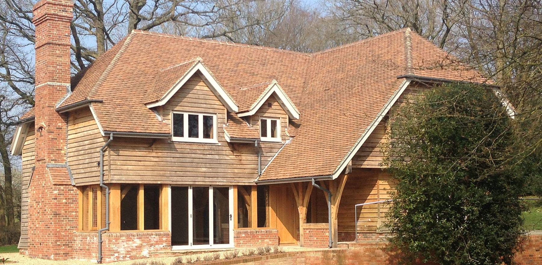 Lifestiles - Handmade Brown Clay Roof Tiles - Cranbrook, England 2