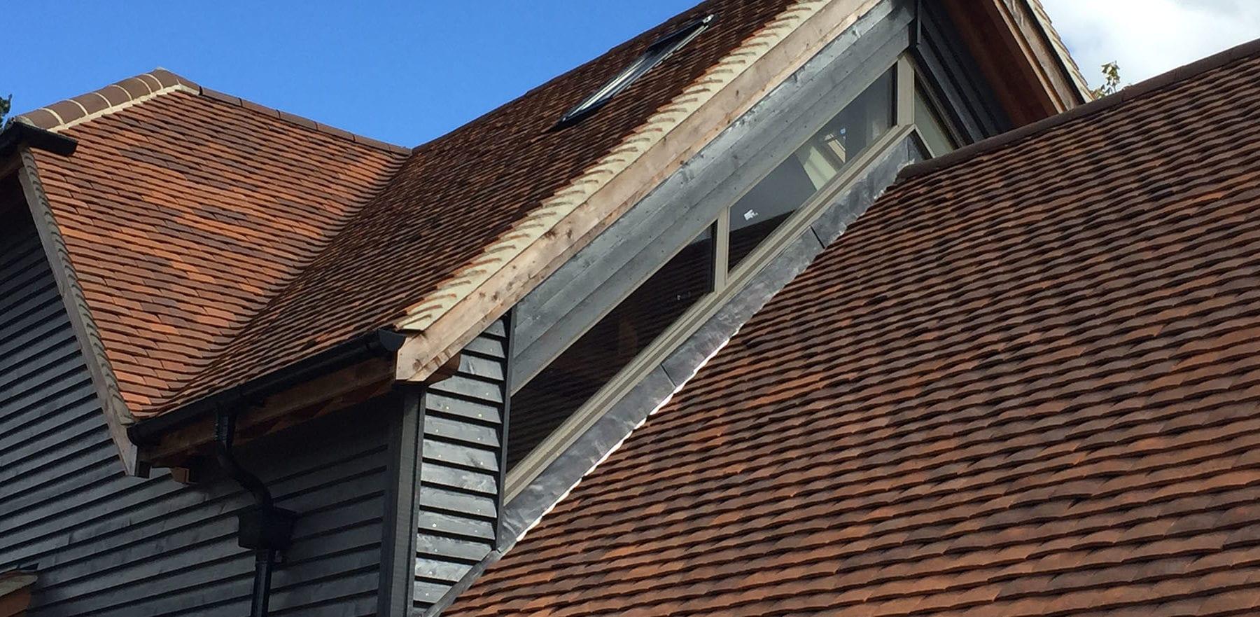 Lifestiles - Handmade Brown Clay Roof Tiles - Midgham, England 2