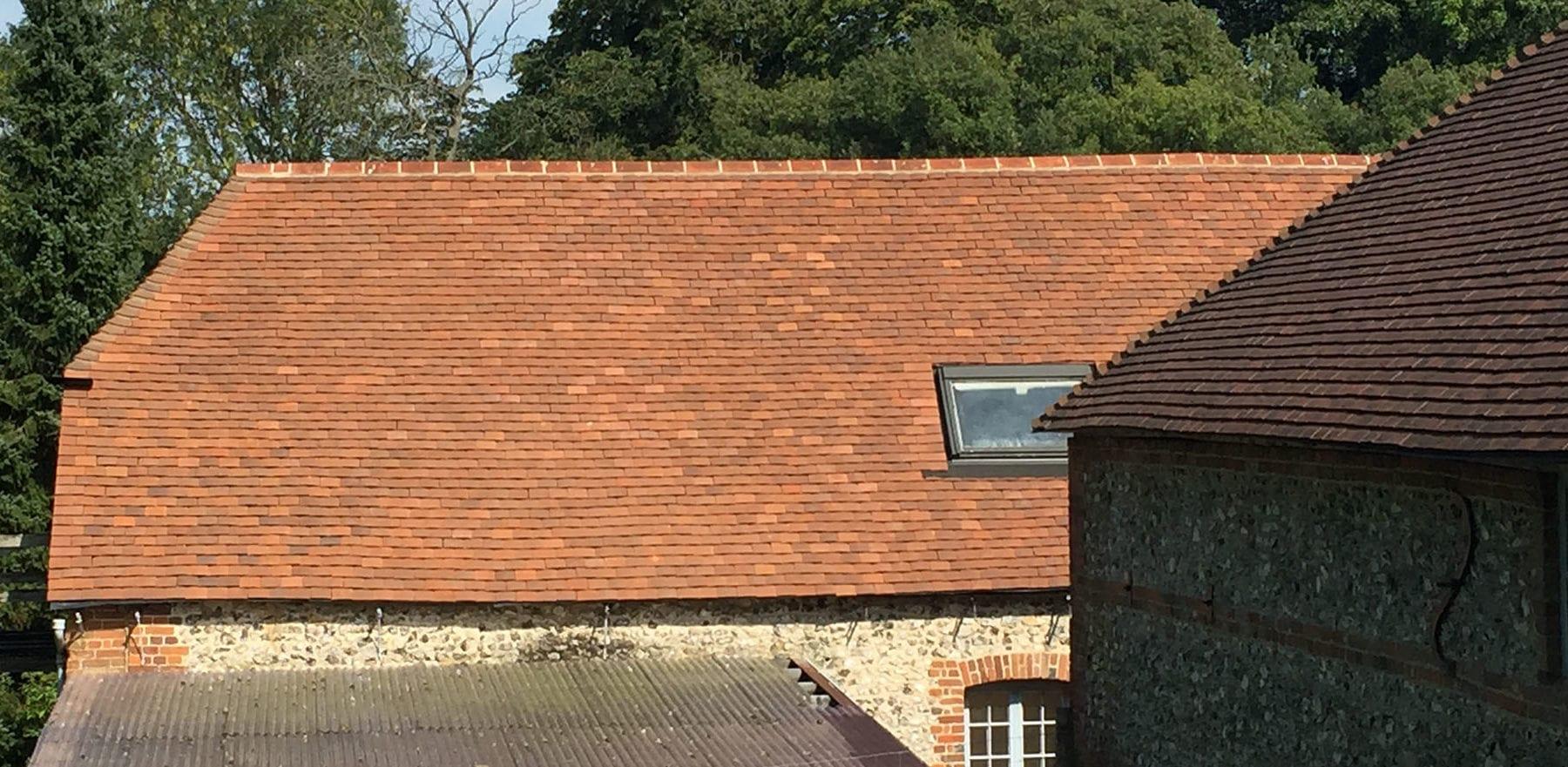 Lifestiles - Handmade Brown Clay Roof Tiles - Stockbridge, England 2