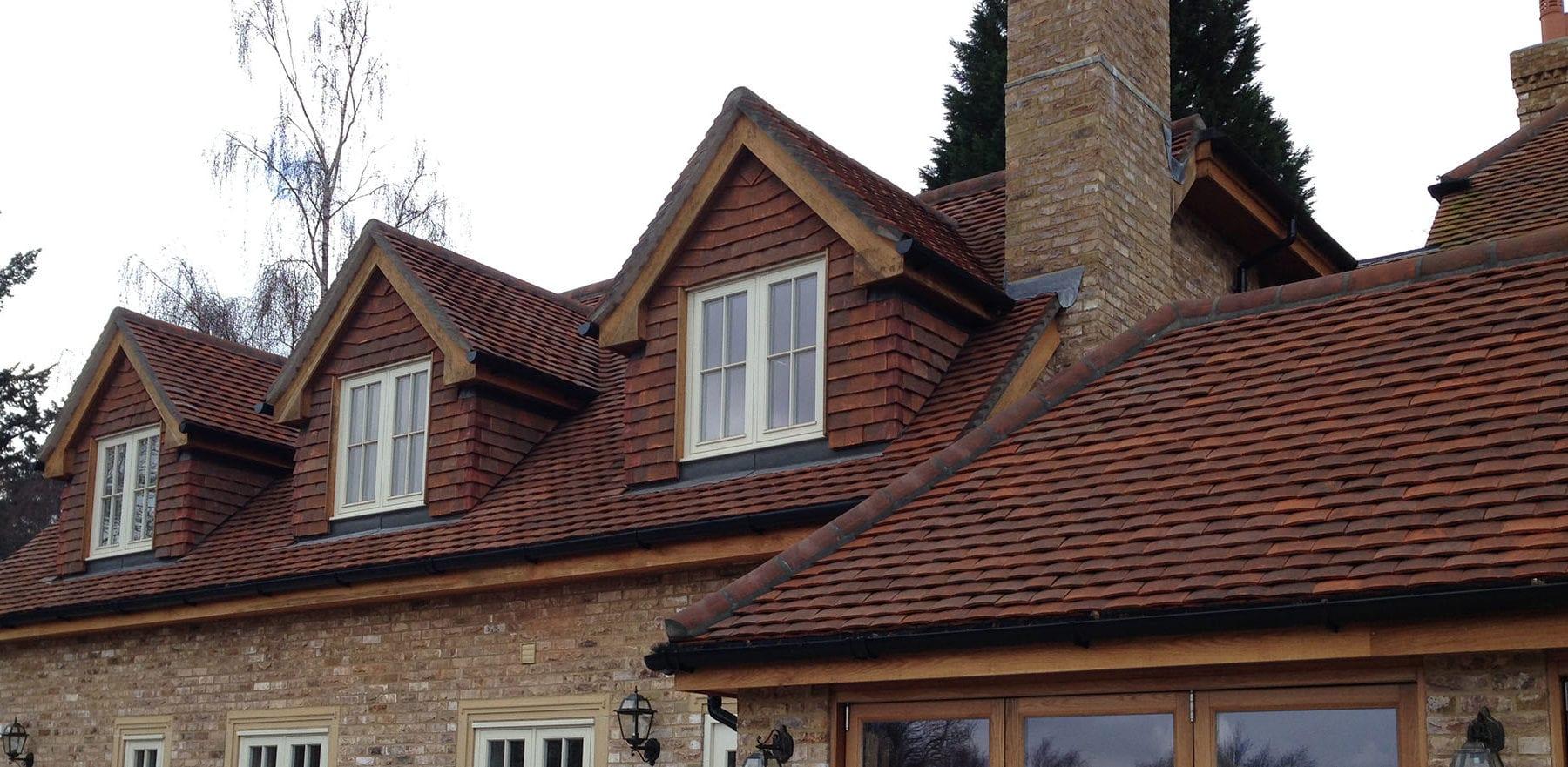Lifestiles - Handmade Brown Clay Roof Tiles - Sunningdale, England 2