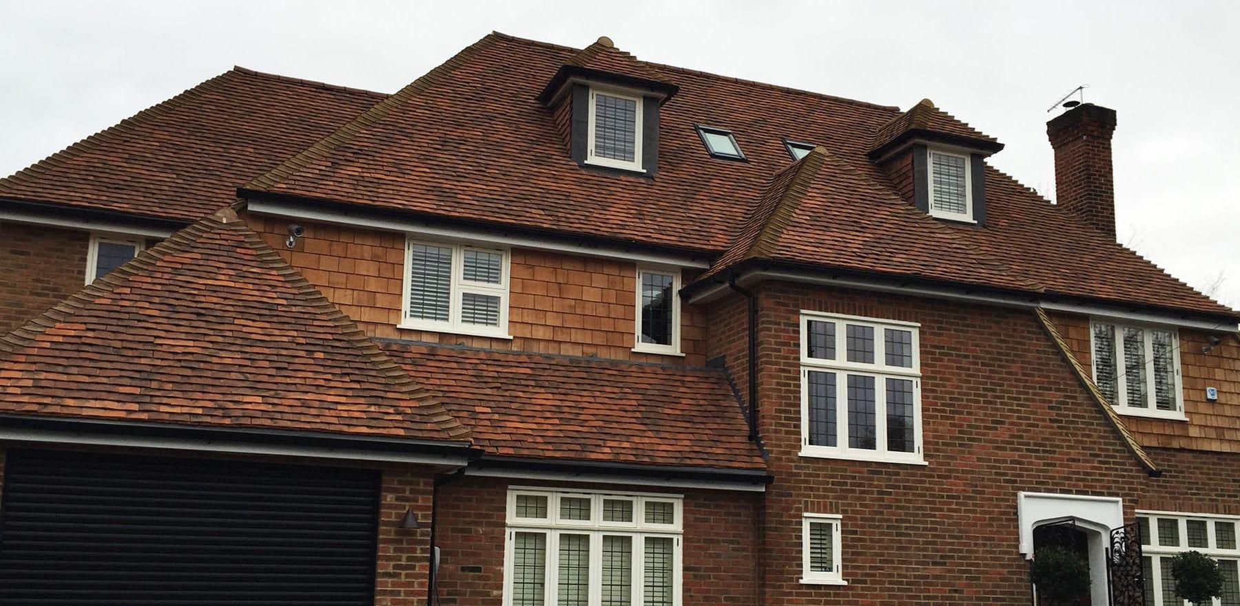 Lifestiles - Handmade Oakhurst Clay Roof Tiles - Hampton Hill, England 3