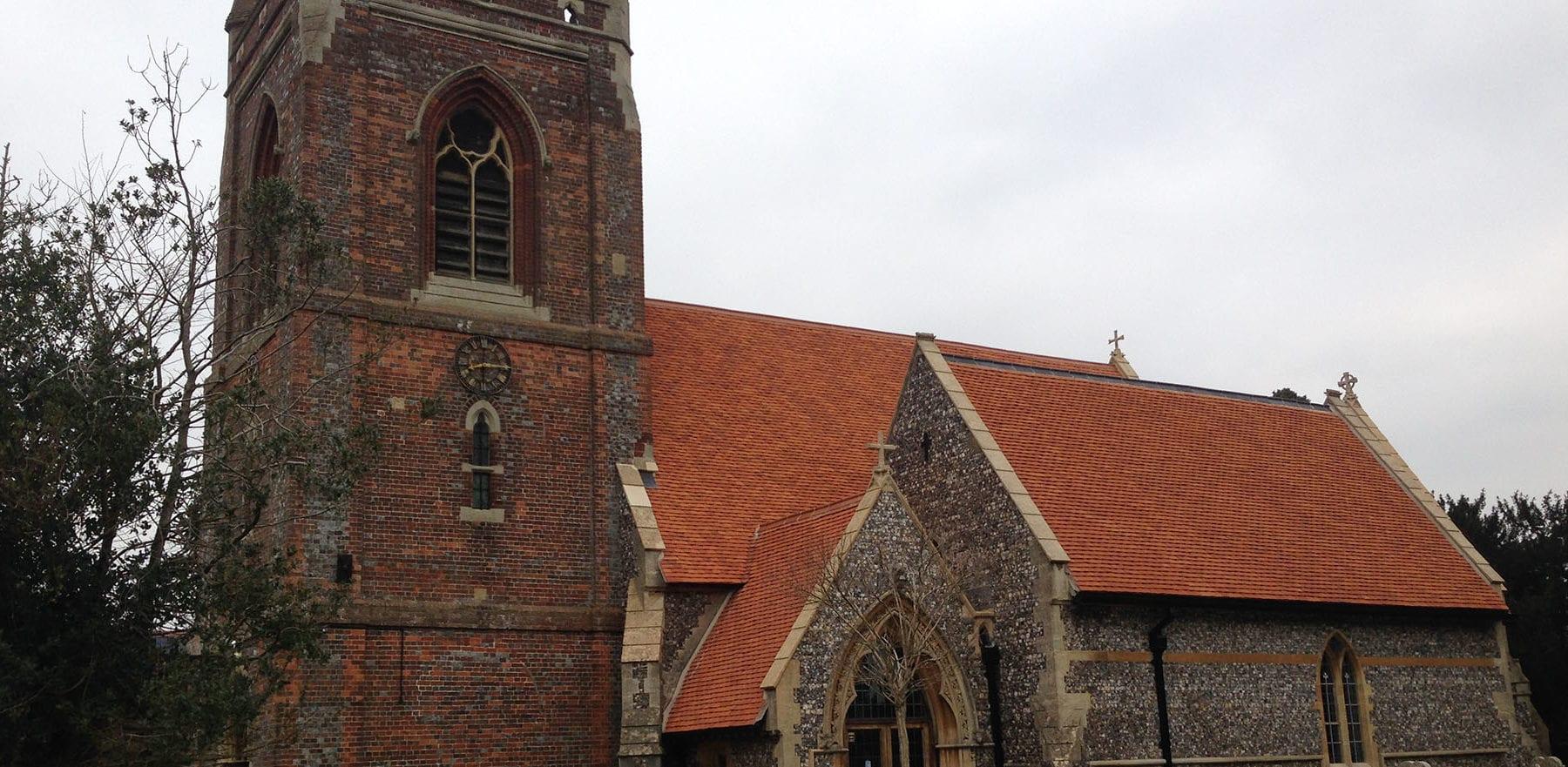 Lifestiles - Handmade Orange Clay Roof Tiles - Berkshire, England 2