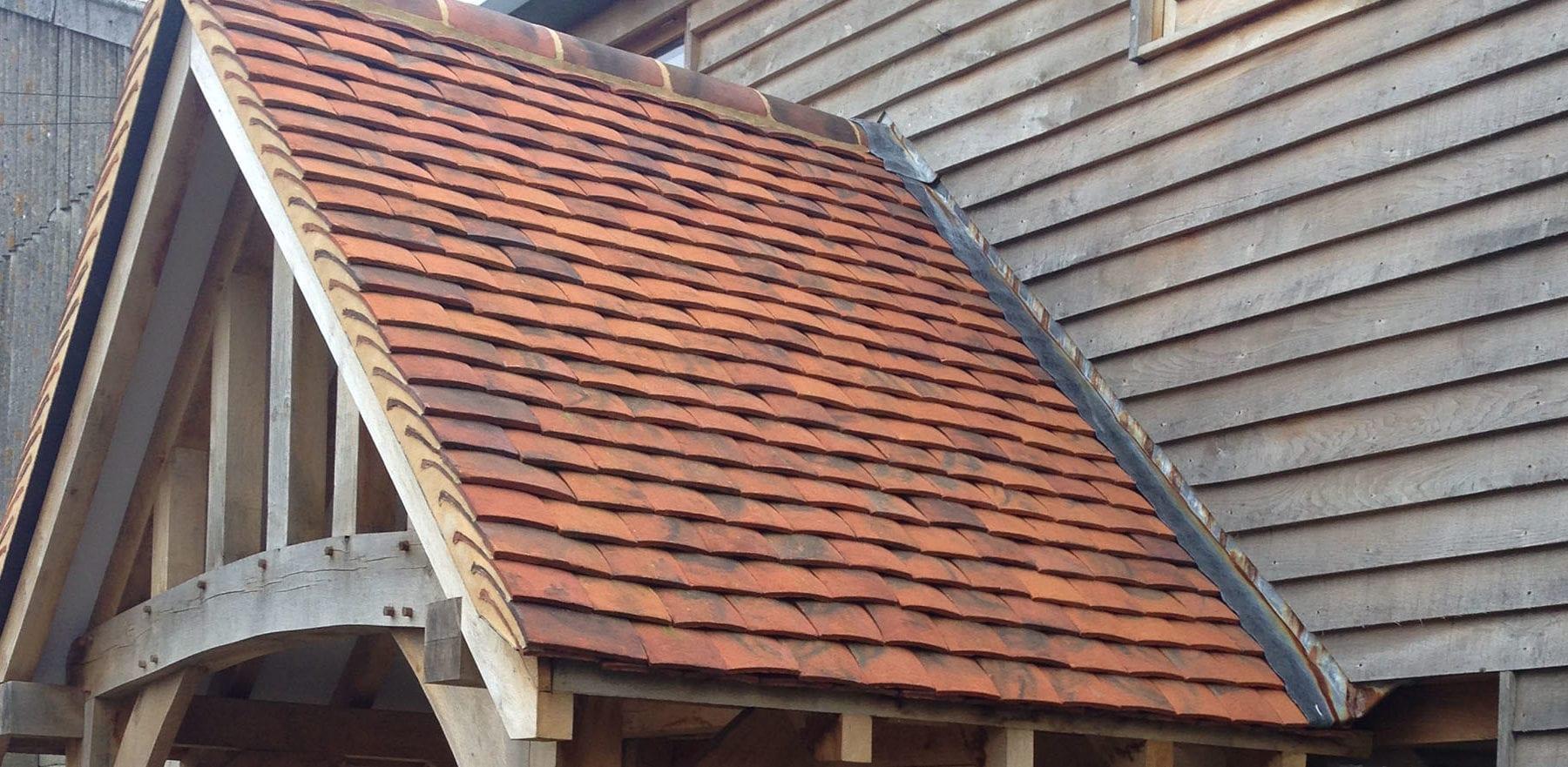 Lifestiles - Handmade Berkshire Clay Roof Tiles - Hartwood Oak, England 2