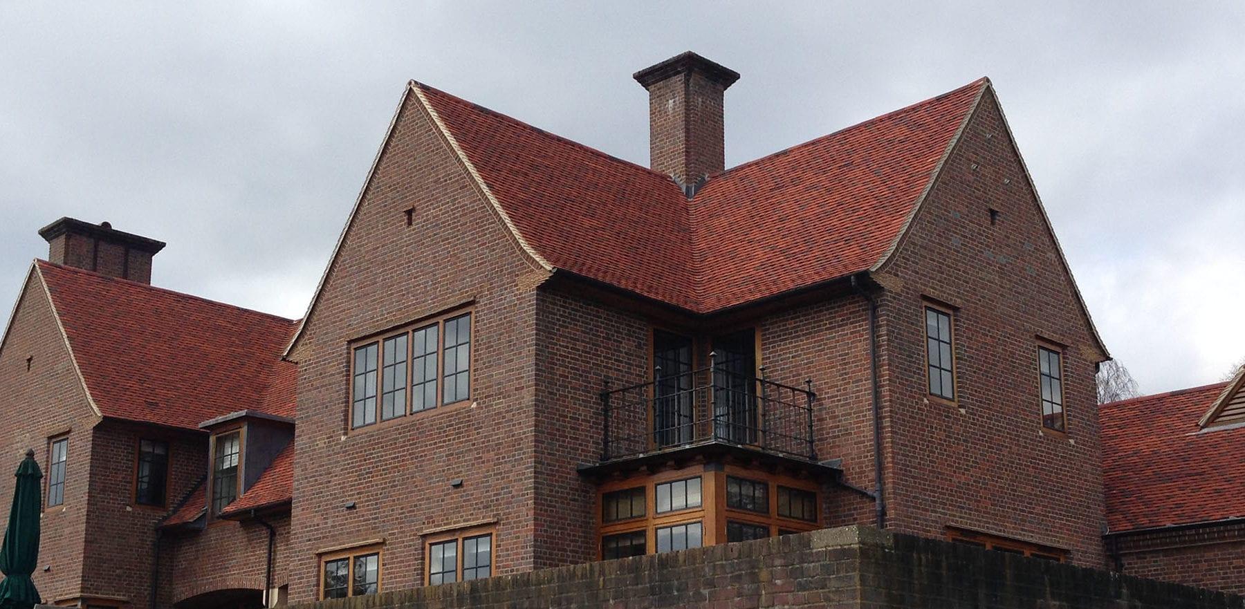 Lifestiles - Handmade Bespoke Clay Roof Tiles - Chipstead, England 2