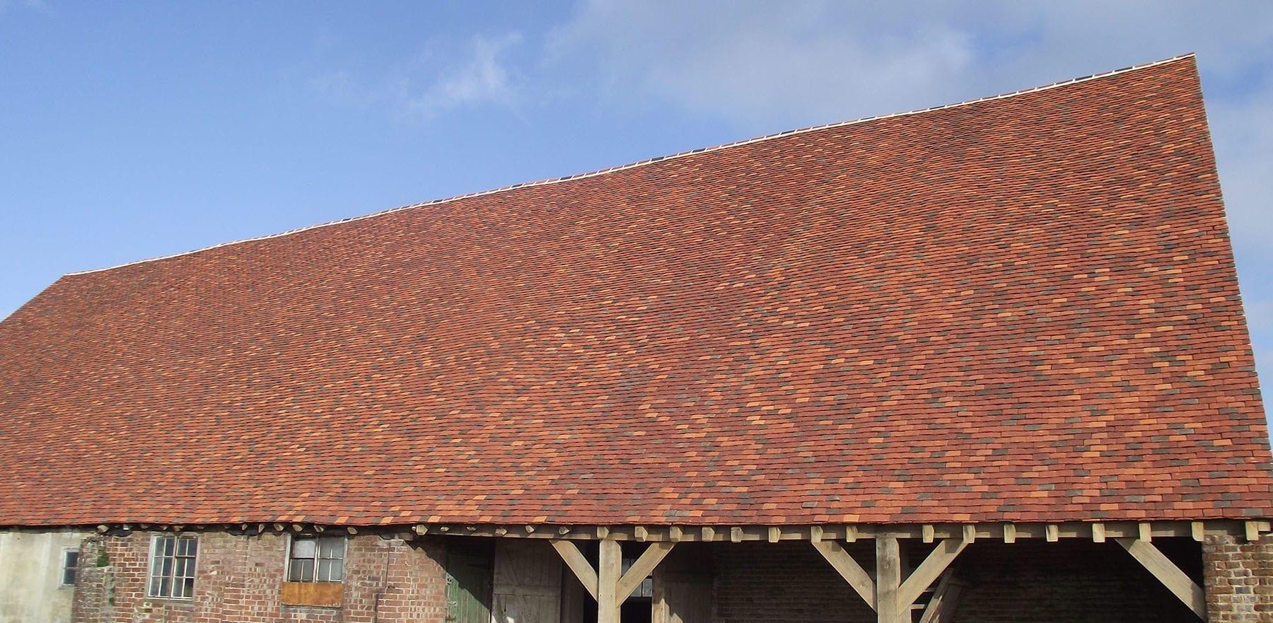 Lifestiles - Handmade Bespoke Clay Roof Tiles - Pelsham Barns, England 2