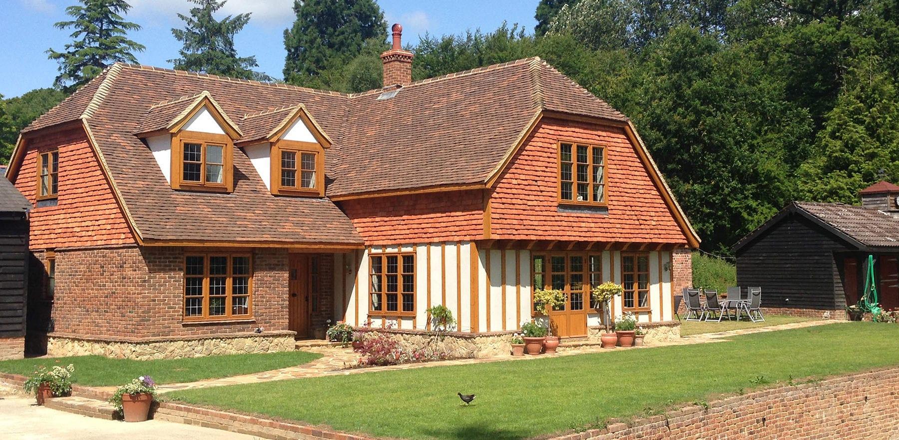 Lifestiles - Handmade Bespoke Clay Roof Tiles - Rotherfield, England 2