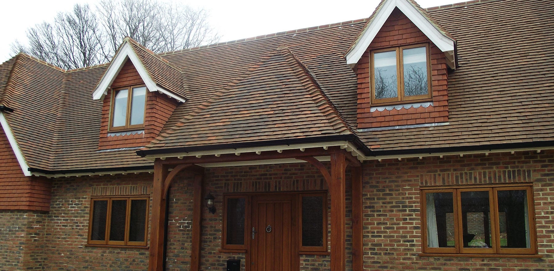 Lifestiles - Handcrafted Autumn Clay Roof Tiles - Sussex, England 3