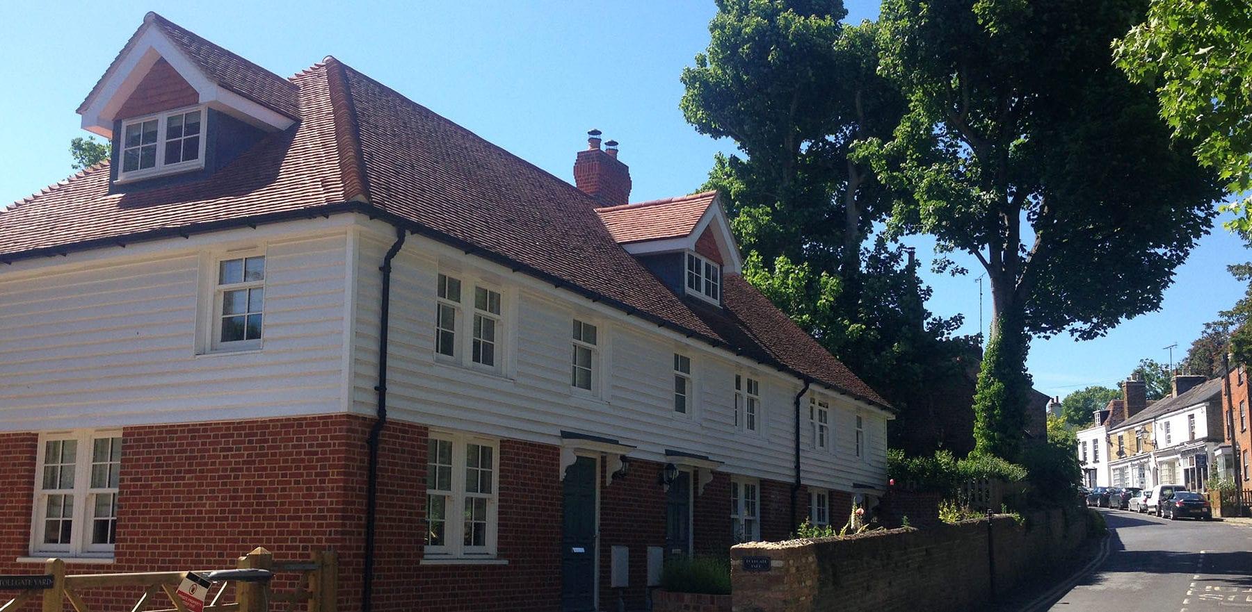 Lifestiles - Handcrafted Orange Clay Roof Tiles - Farningham, England 2