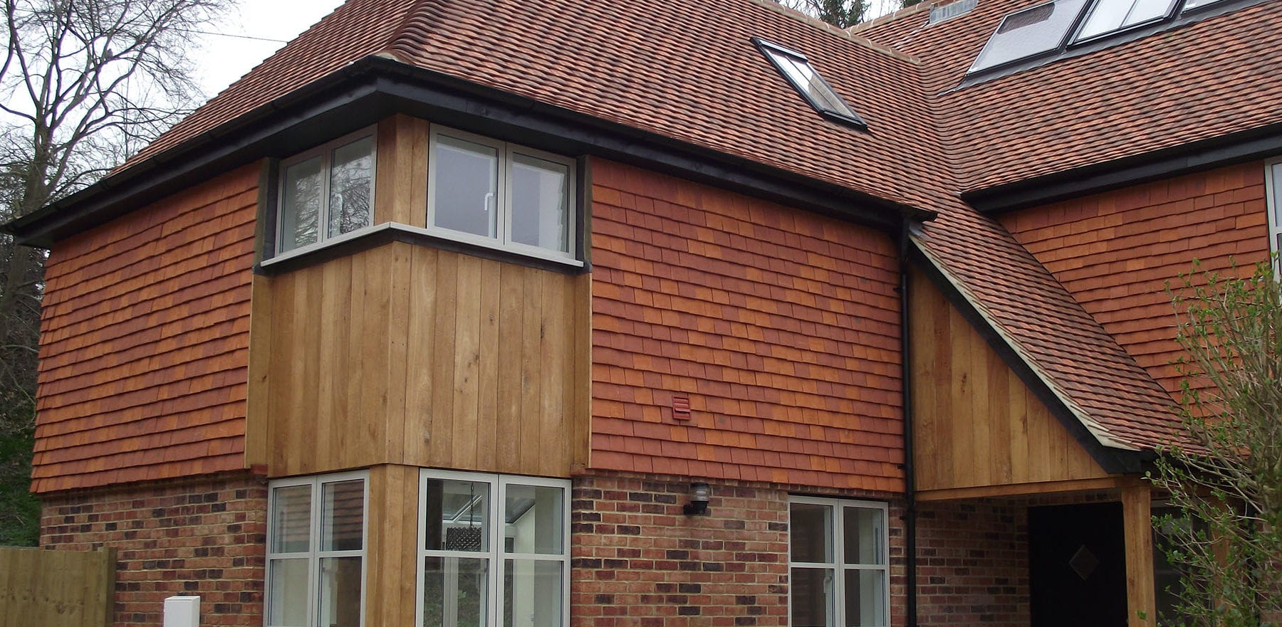 Lifestiles - Handcrafted Orange Clay Roof Tiles - Liss, England 2