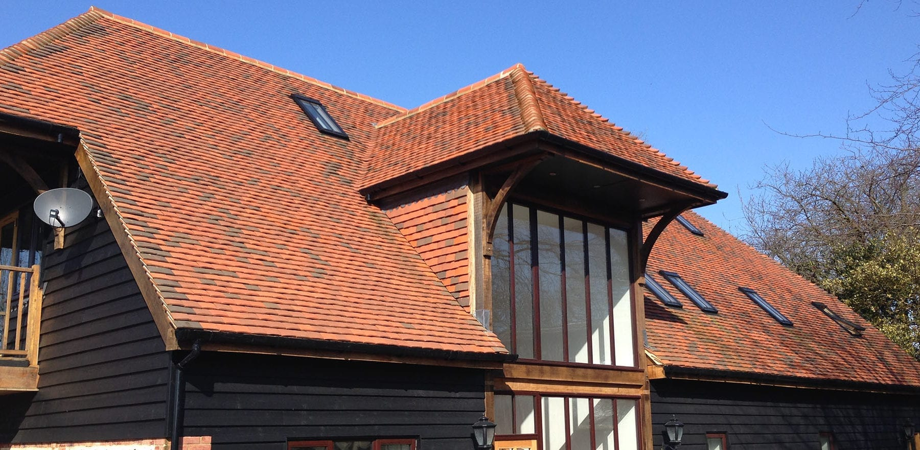 Lifestiles - Handcrafted Tilehurst Clay Roof Tiles - Folkstone, England 2