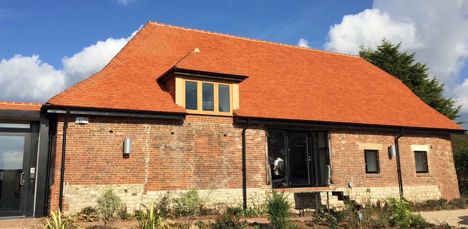 Lifestiles - Handcrafted Pentlow Clay Roof Tiles - Petersfield, England 4