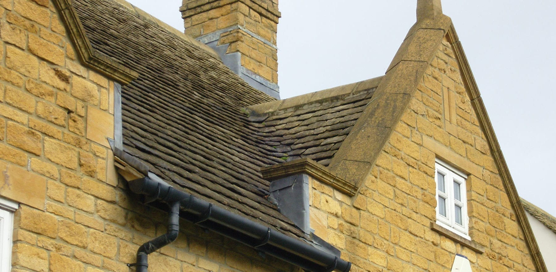Lifestiles - Natural Stone Aged Roof Tiles - Cirencester, England 3