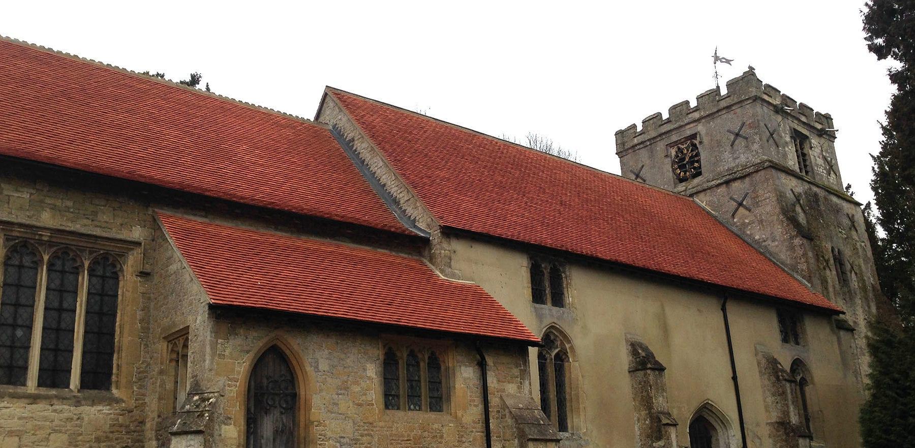 Lifestiles - Handcrafted Orange Clay Roof Tiles - Letcombe, England 4