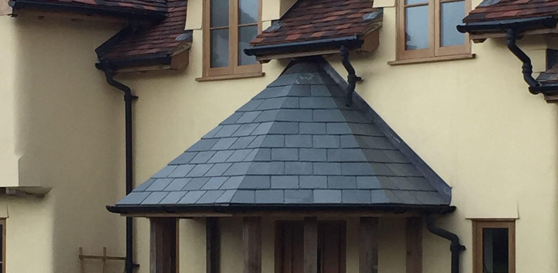 Lifestiles - Brazilian Natural Slate Roof Tiles - Farnham, England 4